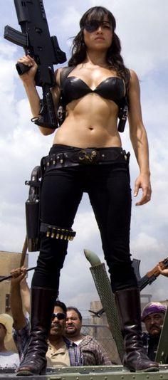 Michelle Rodriguezin Robert Rodriquezs Machete. watch this movie free here: http://realfreestreaming.com