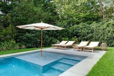 Here are 40 Amazing Backyard Pool Ideas Incredible Pool Designs That Will Make A Splash In Your Backyard Landscaping. tags: backyard ideas, swimming pool design, backyard pool ideas on budget, small backyard pool, backyard pool lanscaping. Pool Garden, Backyard Pool Landscaping, Backyard Pool Designs, Small Backyard Pools, Pool Fence, Landscaping Ideas, Backyard Ideas, Pool Paving, Small Inground Pool