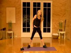 Tracy Anderson Workout, Part 1