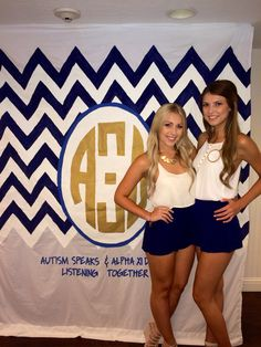 Always love stumbling upon sisters from my chapter on Pintrest haha