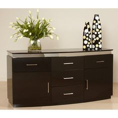 Have to have it. Chintaly Xenia Dining Buffet - $1131.02 @hayneedle.com