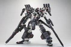 Kotobukiya Crest assault suppression-Eagle Eye [Armored Core] by 507 Gunpla Custom, Custom Gundam, Armored Core, Futuristic Armour, Cool Robots, Sci Fi Armor, Lego Mecha, Robot Concept Art, Mecha Anime