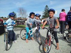 Bike On NZ Trust - A smile says it all for a kid on a bike.