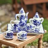 Miniature Ceramic China Tea Set