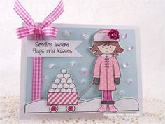 Created using the Abigail, Let it Snow, Sweeties Wagon, Wagon Add-on 3 and Thanks Snow Much stamp sets along with the Thanks Snow Much Sweet Cuts die and Frosting sequins from www.papersweeties.com!  Designed by Debbie Marcinkiewicz.