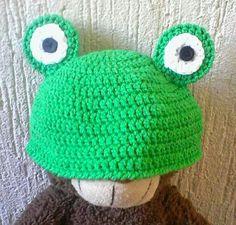 Gorro rana crochet