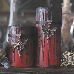 Designer Clothes, Shoes & Bags for Women Goth Home Decor, Halloween Home Decor, Halloween House, Halloween Decorations, Halloween Candles, Halloween 2020, Gothic Halloween, Halloween Dinner, Diy Halloween