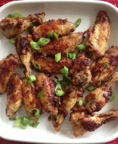 Soy glazed chicken wings - delicious fall-off-the-bone goodness!