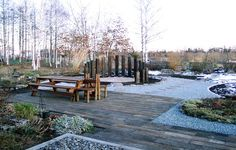 Nice use of outdoor space