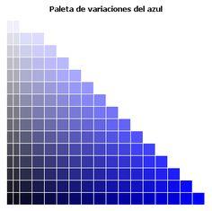 Teoría del color. Estudio de algunos colores I