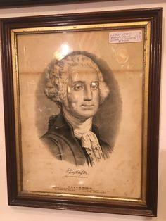 George Washington, Fascinator, America, Frame, Decor, Picture Frame, Headdress, Decoration, Decorating