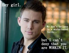 Hey Christian Girl you are working it!