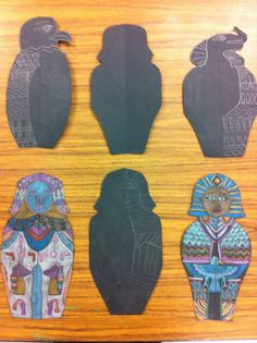 Sarcophagus design by my 5th graders.