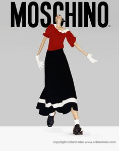 """EDLAND MAN  Photography and Art: Moschino and the """"Ten Years of Kaos"""" Fashion Show ..."""