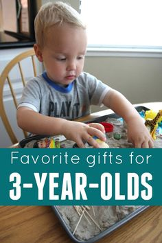 Toddler Approved!: Favorite Gifts for 3-year-olds