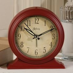 Here is the alarm clock for those trying to simplify their lives. This is your back to basic, with no real frills, cool looking red clock... to get you out of bed every morning.