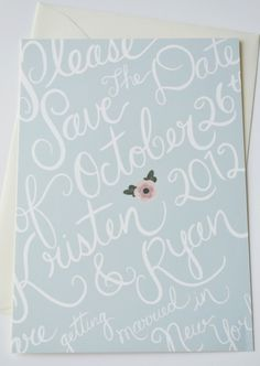 Delighfully Sweet Custom Save the Dates