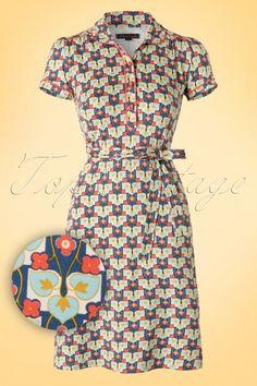 King Louie Palacebi Polo Dress TopVintage Exclusive 106 39 17940 20160224 0007VW1