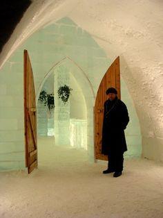 Ice Hotel Quebec-Canada