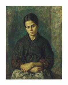 """Peasant_girl_of_ibiza"", any 1939 - Autor: Martin Baer (1894-1961)"