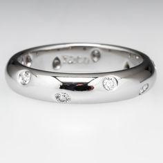 Tiffany & Co. Etoile Diamond Wedding Band Ring