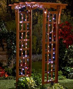 Create a festive ambiance throughout the year with these Solar String Lights. The set eliminates wires and the need for outlets. Use the Solar String Lights throughout the year to add a tranquil atmosphere to your outdoor space.
