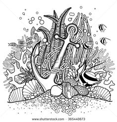 hawaiian coral reef coloring pages - photo#3