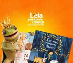 Saleta de Leitura Leia para uma criança #issomudaomundo
