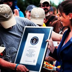 Robbie, our CEO, getting an official Guinness Book plaque #tbt #proud #ducks #guinnessbook #happy #summer #letsgoback  Please remember to follow our Instagram! http://instagram.com/cozifamily