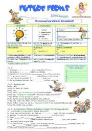 Beginning Sound Worksheets Pdf English Worksheet  Pages Will Future Going Topresent  Skip Counting Worksheets Free Pdf with Identifying Fractions Worksheet Word English Worksheet Future Forms  Grammar Worksheetsverb  Prefixes And Suffixes Worksheets 3rd Grade