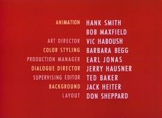 upa animation credits - Google Search The Reunion, Art Director, Animation, Google Search, Animation Movies, Motion Design