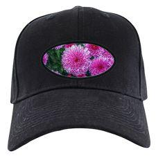 Purple Mums Baseball Hat