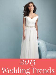 Top 40 2015 Wedding Trends