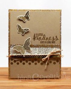 Eclectic Gold by ilinacrouse - Cards and Paper Crafts at Splitcoaststampers