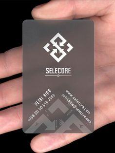 great looking BC on semi-transparent stock = very nice work   Selecore - Logo design process by Luka Balic, via Behance