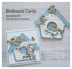 Blue Rose Paper Treasures: Search results for Bird ballad Fancy Fold Cards, Folded Cards, Ideas Sorpresa, Tarjetas Stampin Up, Shaped Cards, Square Card, Stamping Up Cards, Bird Cards, Marianne Design