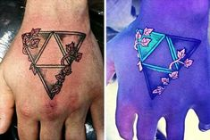 15 tatuajes ultravioleta que te dejarán sorprendido, ¡son geniales!   #tatuajes #ultravioleta #tattoos #creatividad