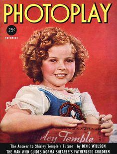 Shirley Temple - Photoplay, Nov, 1937.