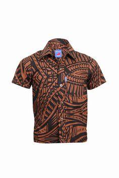 Boys Elei Shirt Tribal Shirt, Tribal Dress, Hawaiian Wear, Island Wear, Tropical Fashion, Modern Disney, Different Dresses, Ethnic Fashion