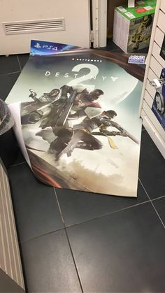 thesevenseraphs:    Twitter user lum3ll shares another picture of the poster of the D2. Its legit boys and girls!    This image was taken from a Gamestop in Italy. Remember September 8th is a Friday! In Europe games typically come out on Fridays. Here in the US they come out on a Tuesday which could mean a September 5th release for the US.  September 5th also happens to be around the end of the 6-week Daybreak Stikes!