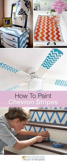 How to Paint Chevron Stripes • Lots of Tips and Tutorials!