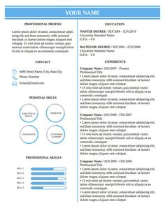 images about resume infographics on pinterest   microsoft    conservative professional business resume template – original resume design