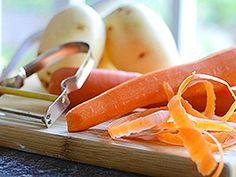 Iskoristite nutrijente iz kore povrća i voća