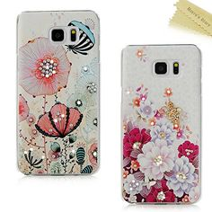S5 Case, JCmax Stylish Premium Handmade Crystal Sparkling Diamond ...
