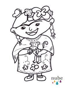 frida kahlo para niños - Google Search