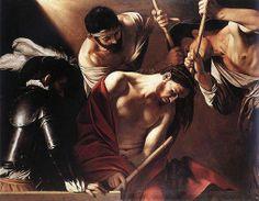 Michelangelo Merisi da Caravaggio (1573–1610) Incoronazione di spine Data 1603 Tecnica: olio su tela Ubicazione: Kunsthistorisches Museum, Vienna. Vittorio Sgarbi - Fb