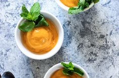 No-Churn Mango Sorbet – The Foodscape Mango Sorbet, Save The Day, Frozen, Ethnic Recipes, Desserts, Cooking, Food, Tailgate Desserts, Kitchen