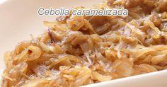 Cómo hacer cebolla caramelizada sin azúcar añadido