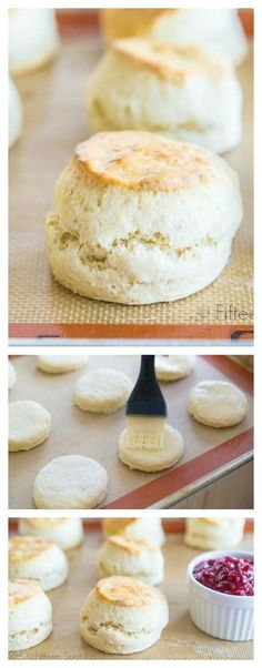 English Style Scones Recipe - Super fluffy and light baked scones