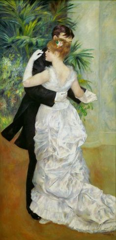 Dance In The City, Pierre-Auguste Renoir